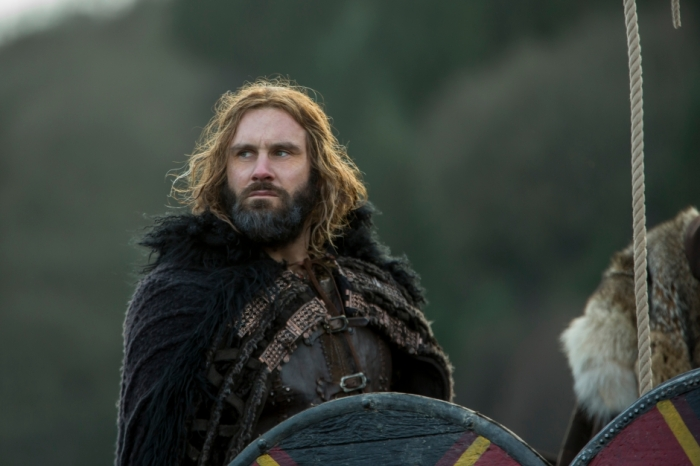 History's 'Vikings,' Season 4, Part 2, Episode 17, The Great Army, Duke Rollo on ship