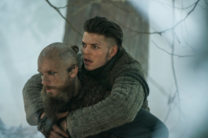 History's 'Vikings,' Season 4, Part 2, Episode 17, The Great Army, Floki and Ivar the Boneless