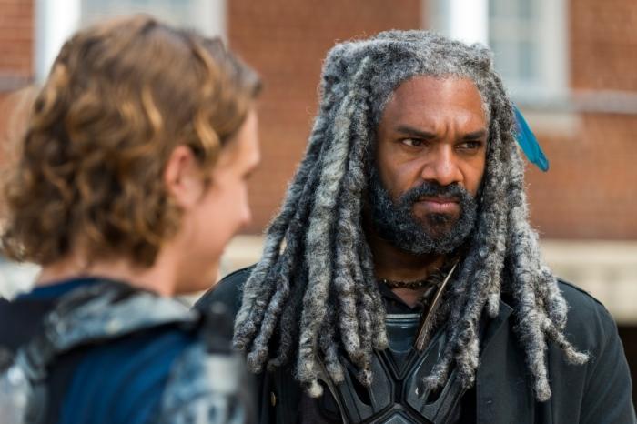 AMC's 'The Walking Dead,' Season 7, Episode 10, New Best Friends, King Ezekiel