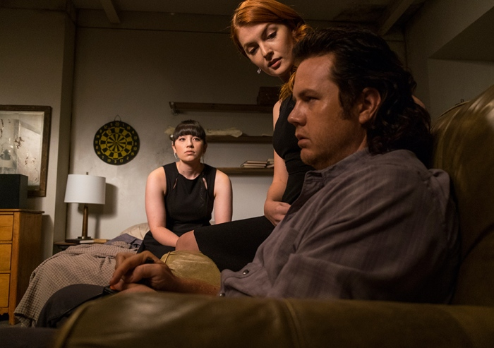 AMC's 'The Walking Dead,' Season 7, Episode 11, Eugene gets enticed by Negan's sister wives