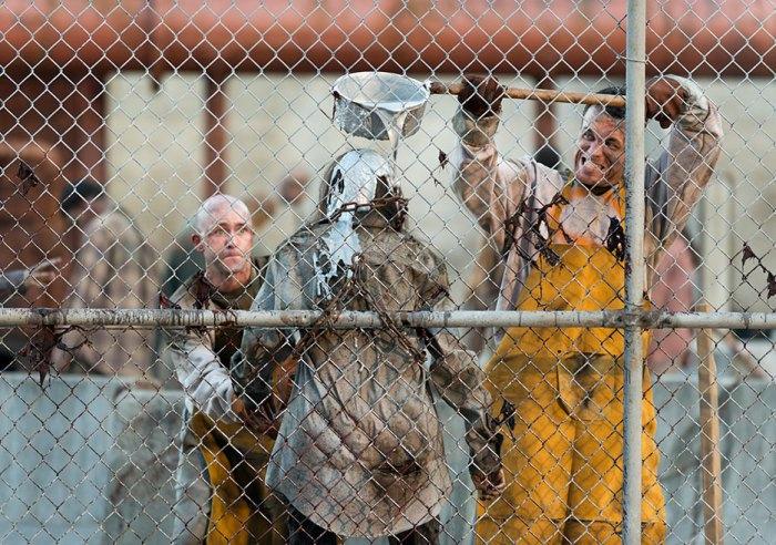 AMC's 'The Walking Dead,' Season 7, Episode 11, Molten metal walker