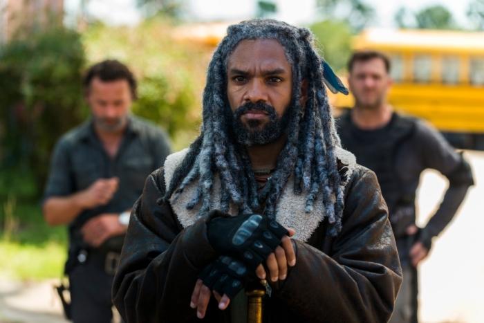 AMC's 'The Walking Dead,' Season 7, Episode 9, King Ezekiel