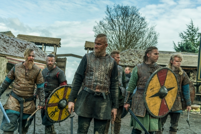 History's 'Vikings,' Season 4, Part 2, finale, Episode 20, The Reckoning, Ragnar's sons look around