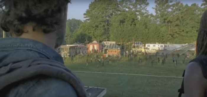 AMC's 'The Walking Dead,' Season 7, Episode 12, Rick Grimes and Michonne find a fairground