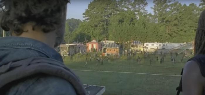 AMC's 'The Walking Dead,' Season 7, Episode 12, Rick Grimes and Michonne find a fairground