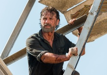 AMC's 'The Walking Dead,' Season 7, Episode 12, Say Yes, Rick Grimes on the Ferris wheel