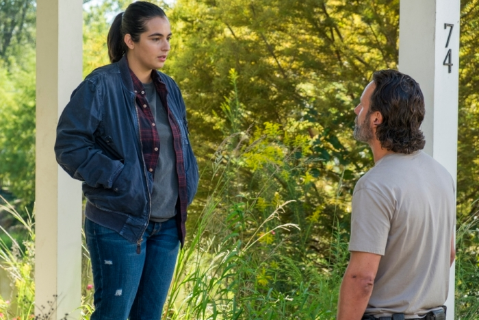 AMC's 'The Walking Dead,' Season 7, Episode 12, Tara and Rick Grimes