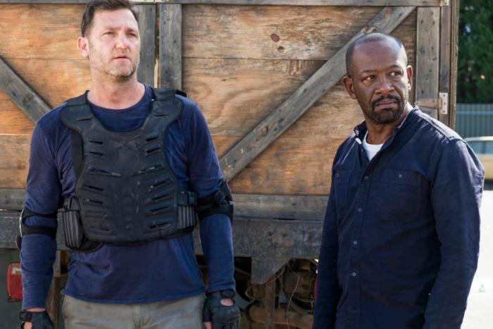 AMC's 'The Walking Dead,' Season 7, Episode 13, Bury Me Here, Richard and Morgan