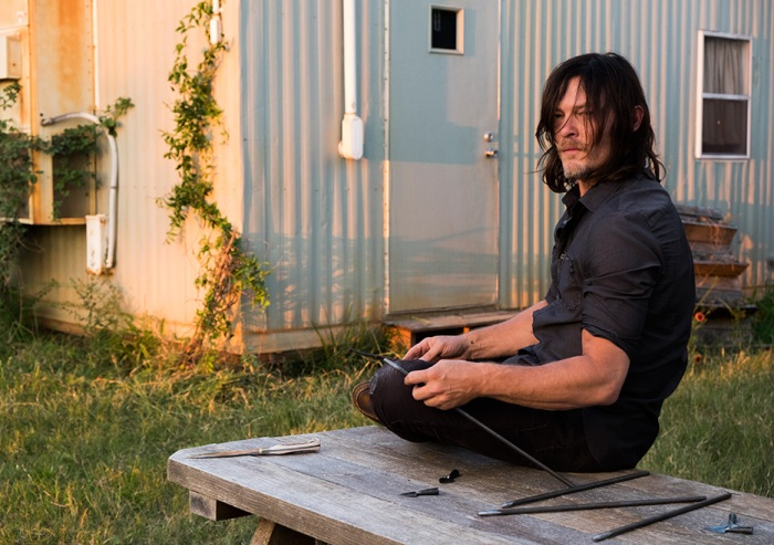 AMC's 'The Walking Dead,' Season 7, Episode 14, The Other Side, Daryl Dixon