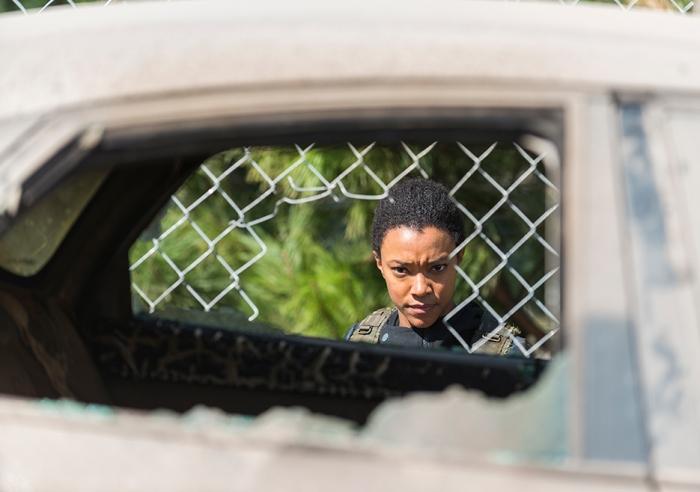 AMC's 'The Walking Dead,' Season 7, Episode 14, The Other Side, Sasha