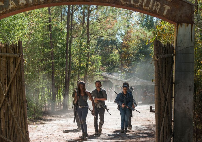 AMC's 'The Walking Dead,' Season 7, Episode 15, Something They Need, Rick's group storm Oceanside