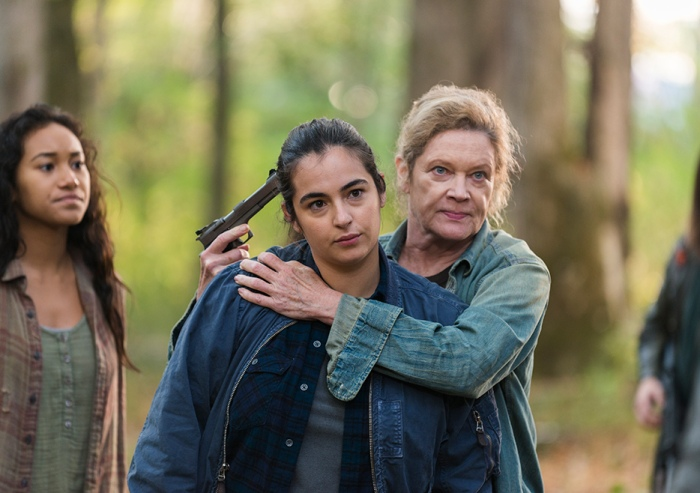 AMC's 'The Walking Dead,' Season 7, Episode 15, Something They Need, Tara and Natania