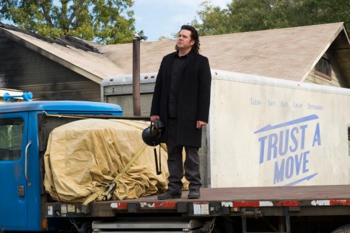 AMC's 'The Walking Dead,' Season 7 finale, Episode 16, Eugene and the megaphone