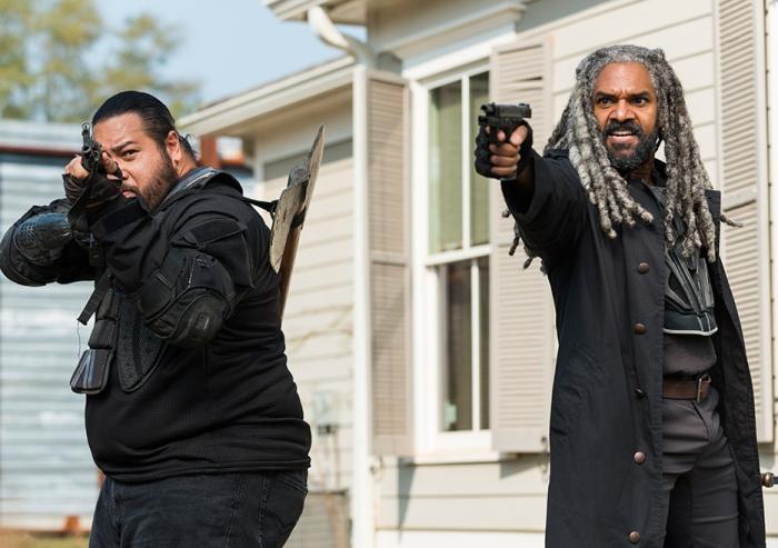 AMC's 'The Walking Dead,' Season 7 finale, Episode 16, The Kingdom arrive